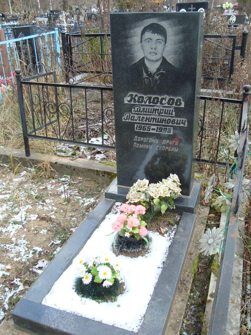 Дмитрий валентинович колосов 1965—1993