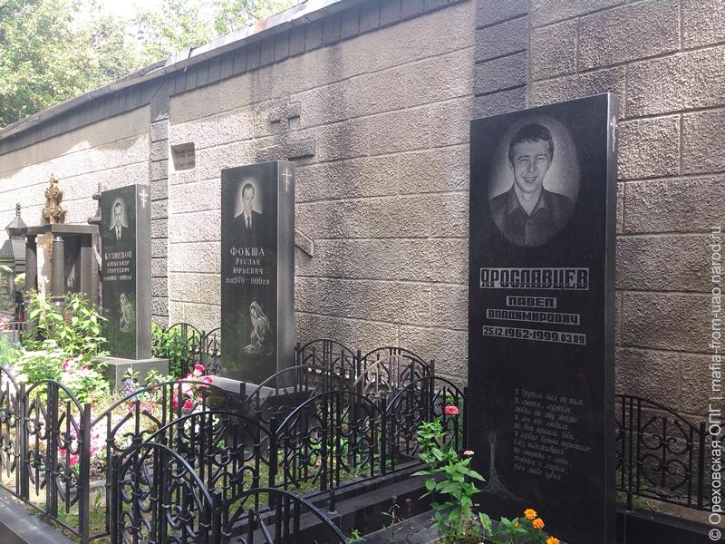 Ореховская троица на даниловском